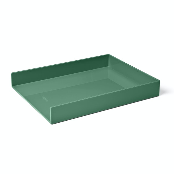 Sage Single Letter Tray,Sage,hi-res