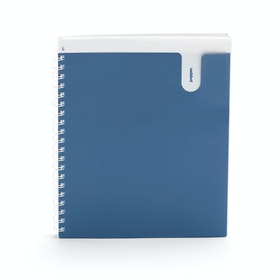Slate Blue 1-Subject Pocket Spiral Notebook