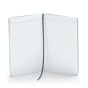 Slate Blue Medium Soft Cover Notebook