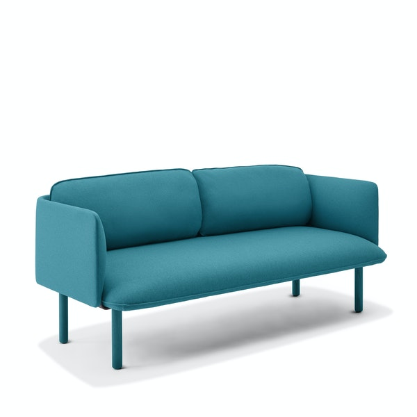 Teal QT Lounge Low Sofa,Teal,hi-res