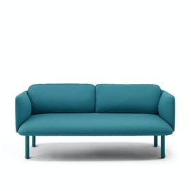 Teal QT Lounge Low Sofa