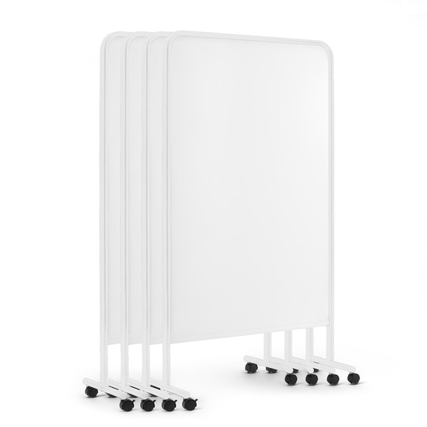 White Goal Dry Erase Board, Set of 4,White,hi-res