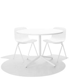 White Key Chair, Set of 2,White,hi-res