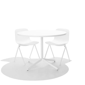 White Key Side Chair, Set of 2