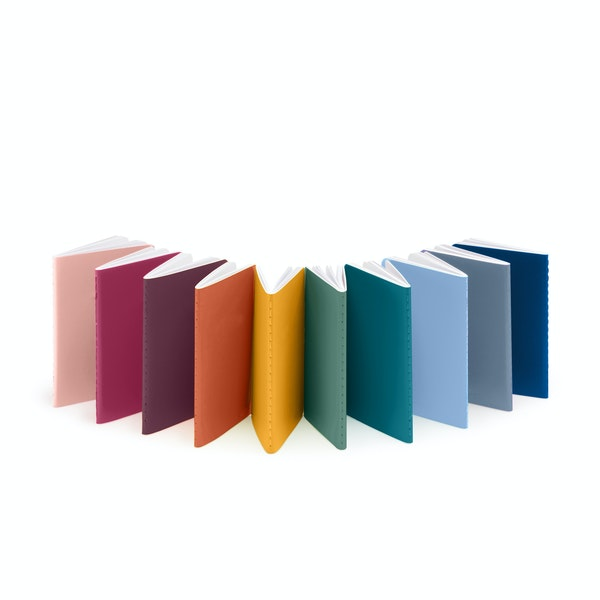 Mini Medley Assorted Brights Soft Cover Notebooks, Set of 10,,hi-res