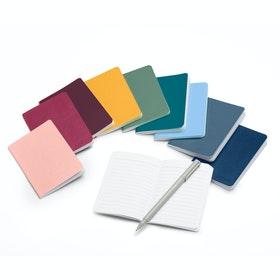 Mini Medley Assorted Brights Soft Cover Notebooks, Set of 10