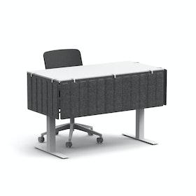 Dark Gray Pinnable Molded Side Modesty Panel,Dark Gray,hi-res