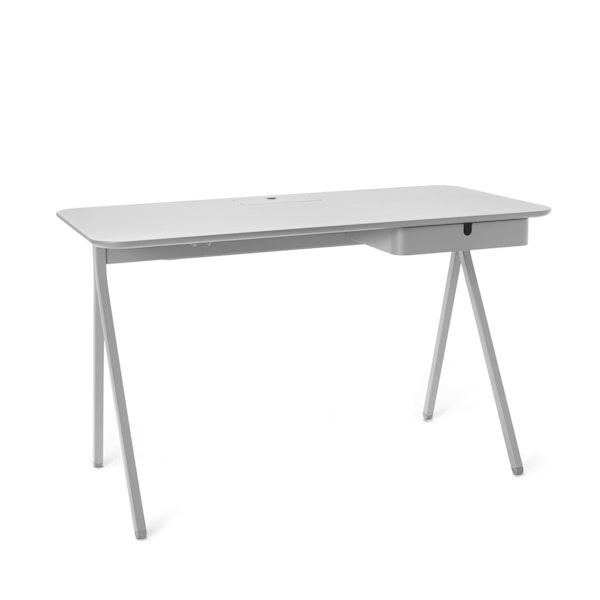 """Light Gray Key Desk, 48"""",Light Gray,hi-res"""