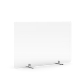 Frost White Privacy Panel, Footed,,hi-res