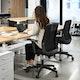 Black Nomad Task Chair,Black,hi-res