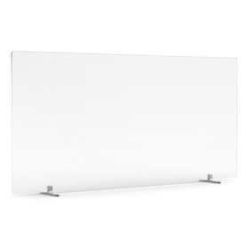 "Tall Frost White Privacy Panel, 45"", Footed"