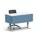 Slate Blue Pinnable Fabric Side Modesty Panel,Slate Blue,hi-res