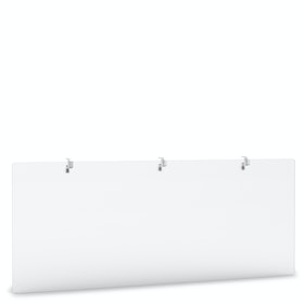 """Tall Frost White Modesty Panel, 55"""""""