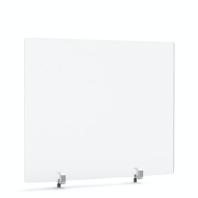 "Tall Frost White Privacy Panel, 27 x 23.5"", Endcap"