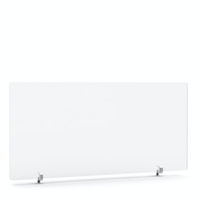 "Tall Frost White Privacy Panel, 45 x 23.5"", Endcap"