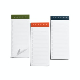Assorted Work Happy Magnetic List Pads, Set of 3