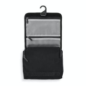 Black + Olive Hanging Toiletry Bag