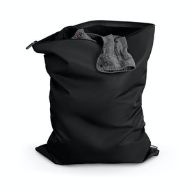 Black Laundry Bag,Black,hi-res