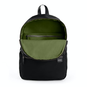 Black + Olive Backpack,Black,hi-res