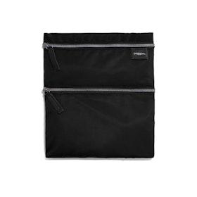 Black + Olive Zip Zip Zip Pouch
