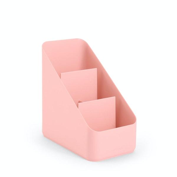 Blush Small Desk Organizer,Blush,hi-res