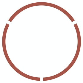 Floor Circle Social Distancing Decals, Set of 2
