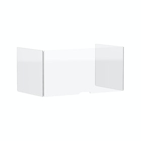 Clear Protective Acrylic Shield for Series A and Series L Desks, 48""