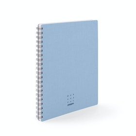 Coast + Lagoon Work Happy 1-Subject Spiral Notebook,Coast,hi-res