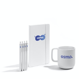 Custom White Breakfast Meeting Kit