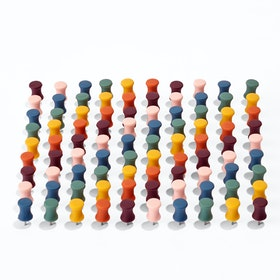 Desert Assorted Push Pins, Set of 100