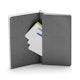 Gunmetal Work Hard Medium Soft Cover Notebook,,hi-res