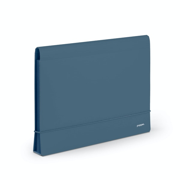 Slate Blue Accordion File,Slate Blue,hi-res
