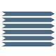 Slate Blue Floor Arrow Social Distancing Decals, Set of 6,Slate Blue,hi-res