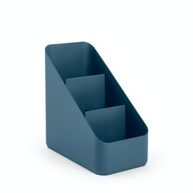Slate Blue Small Desk Organizer