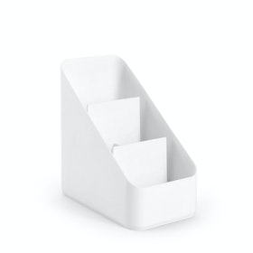 White Small Desk Organizer