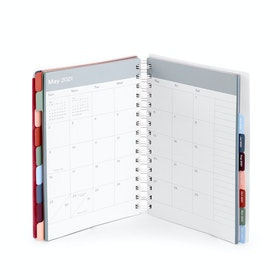 Wine Medium 18 Month Pocket Book Planner, 2020-2021