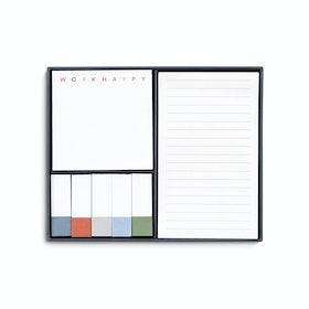 Lagoon Work Happy Sticky Note Set