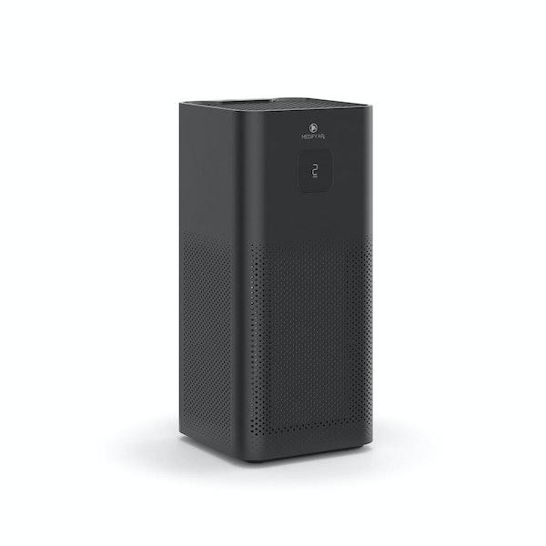 Black MA-50 UVC Sanitizing Floor Unit HEPA Air Purifier,Black,hi-res