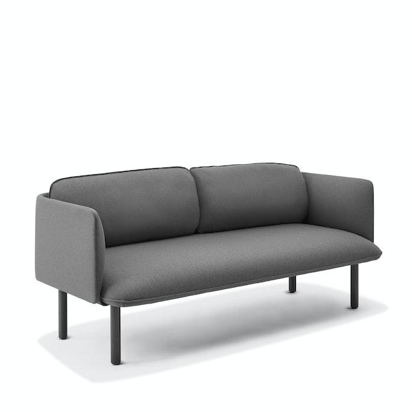 Dark Gray QT Low Lounge Sofa,Dark Gray,hi-res