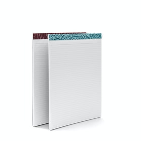 Elements Large Writing Pads, Set of 2