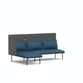 QT Adaptable Lounge Sofa + Left Chaise