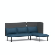 QT Adaptable Lounge Sofa + Right Chaise,,hi-res