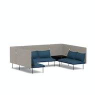 QT Adaptable Collab Lounge Sofa,,hi-res