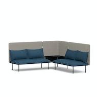 QT Adaptable Corner Lounge Sofa,,hi-res