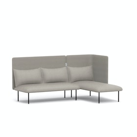 QT Adaptable Lounge Sofa + Right Chaise