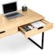 Natural Oak Home Office Wood Writing Desk,Natural Oak,hi-res