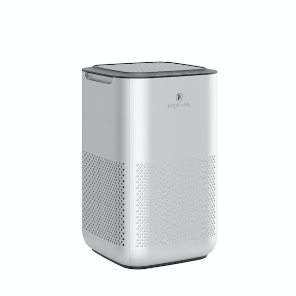 Silver Large MA-15 Desktop Unit HEPA Air Purifier,Silver,hi-res