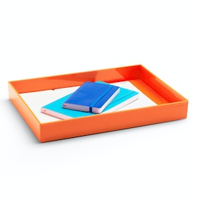 Orange Large Accessory Tray