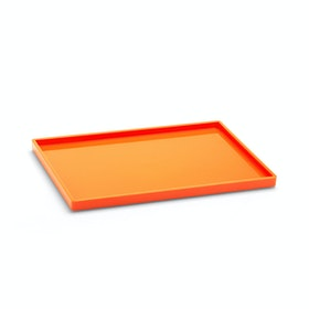 Orange Medium Slim Tray