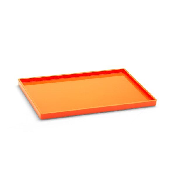Orange Medium Slim Tray,Orange,hi-res